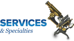 Services & Specialties